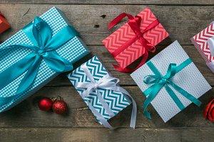 Christmas concept - presents