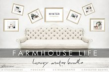 FARMHOUSE LIFE. WINTER