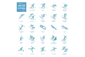 Winter games icon