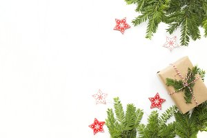 Christmas styled stock photo