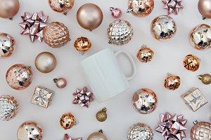 Christmas Mockup with mug