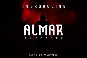 New! Almar Font
