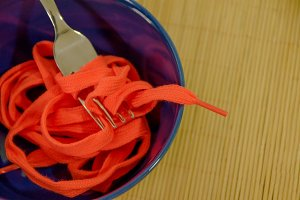 Shoestrings food