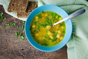 Zuppa Imperiale - Italian soup