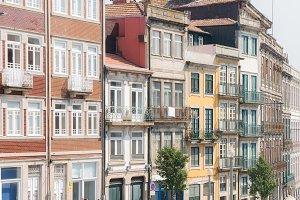 Street view in Porto city