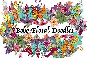 Boho Floral Doodles