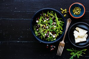 Beetroot salad bowl