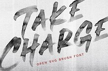 Take Charge - OpenType SVG Font