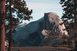Half Dome - Glacier Point