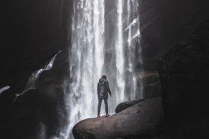 Mist Falls Yosemite