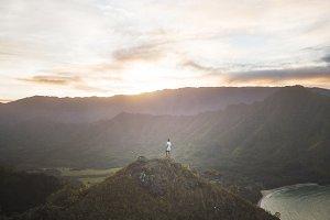 Hawaiian hiking