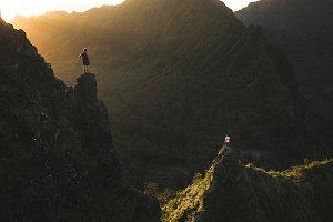 Pali Notches Hawaii