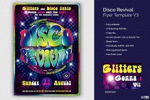 Disco Revival Flyer Template V3
