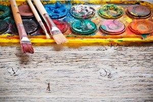 Watercolor paintbox