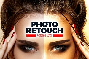 Photo Retouching Photoshop Action
