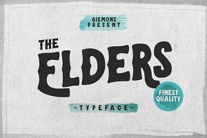 Elders Typeface