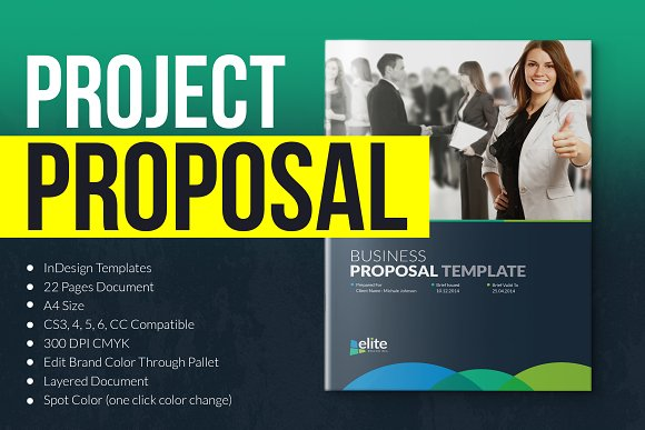 Corporate Clean Business Proposal in Brochure Templates