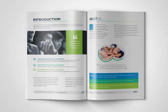 Corporate Clean Business Proposal in Brochure Templates - product preview 1
