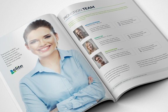 Corporate Clean Business Proposal in Brochure Templates - product preview 2