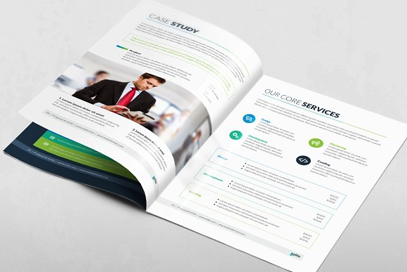 Corporate Clean Business Proposal in Brochure Templates - product preview 3