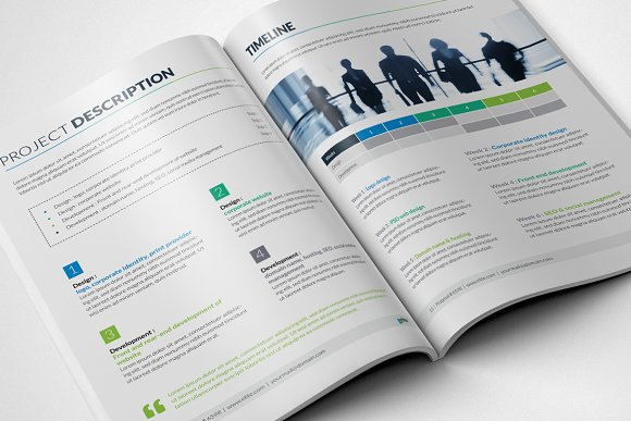 Corporate Clean Business Proposal in Brochure Templates - product preview 5