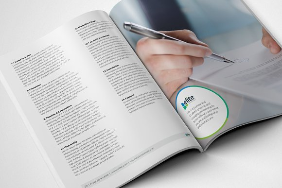 Corporate Clean Business Proposal in Brochure Templates - product preview 10