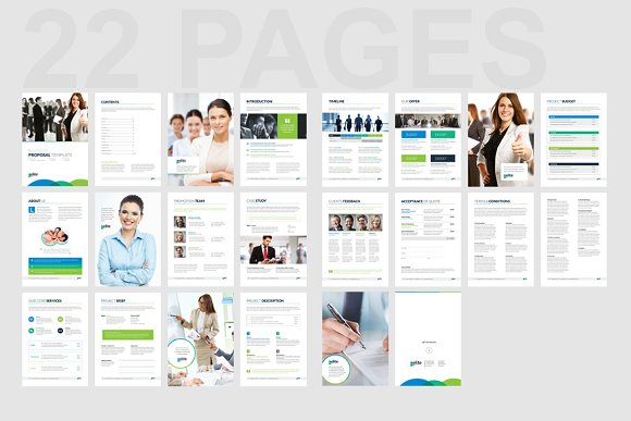 Corporate Clean Business Proposal in Brochure Templates - product preview 11