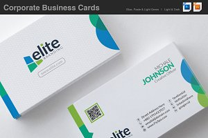 Corporate Clean Business Cards