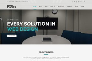 Drubo - Corporate WordPress Theme