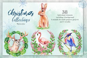 Christmas collections-Watercolor