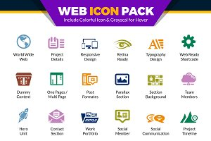 Web Icons Pack | Website Vector Icon