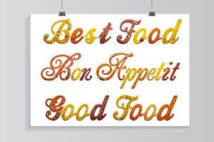Best food.