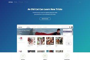 StartUp - Landing Page Tempalte