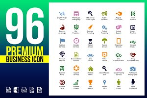 Business Icons Pack | Vector Icon