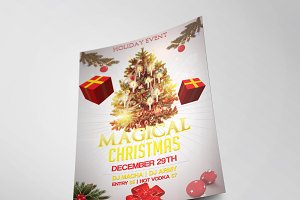 Christmas Party Flyer Template Vol.1