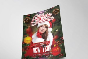 Christmas Party Flyer Template Vol.2