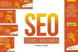 SEO Services Web Banners & Ads
