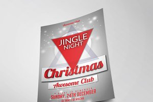 Christmas Party Flyer Template Vol.3