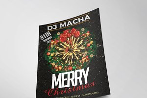 Christmas Party Flyer Template Vol.4