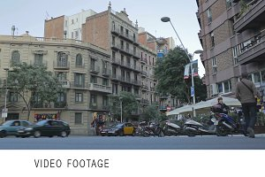 Barcelona city life