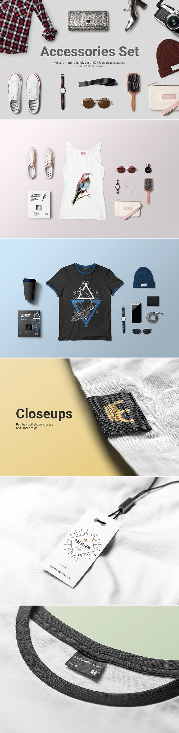 Ultimate Apparel Mockup Collection Product Mockups Creative Market