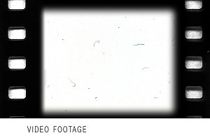 Vintage looping film strip