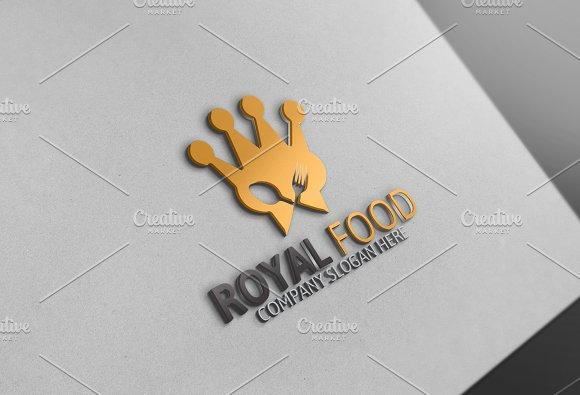 Royal Food Logo