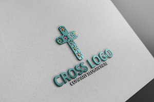 Cross Logo Template -30% Discount!