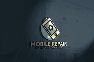 Mobile Repair Logo
