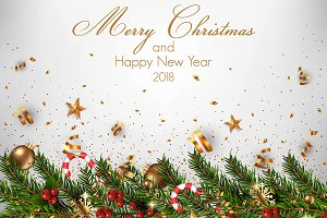 Christmas and Happy New Year Cards