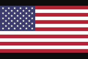 Vector of USA flag.
