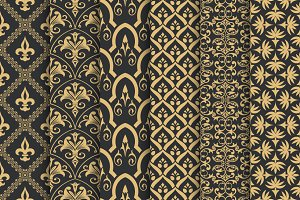 Luxury seamless backgrounds