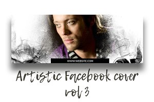 Artistic Facebook Cover vol. 3