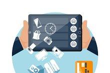 Online ecommerce technology internet